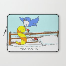 Teamwork Laptop Sleeve