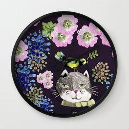 Cat Rabit Wall Clock