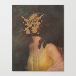 The Foxface Canvas Print