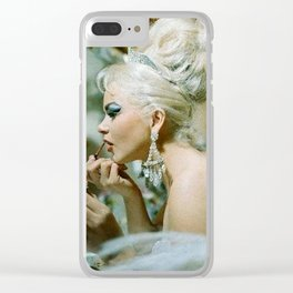 Las Vegas Showgirls 1960 Clear iPhone Case