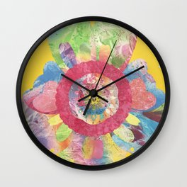 FlowerWaltz03 Wall Clock