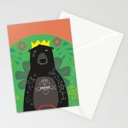 King Bear Stationery Cards