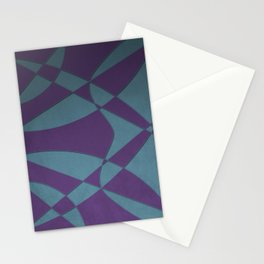 Wings and Sails - Purple and Light Blue Stationery Cards