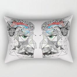Brainwash Rectangular Pillow