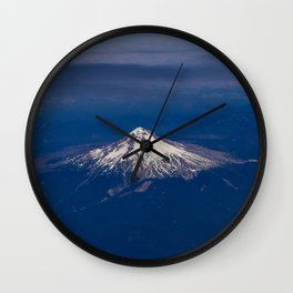 Pacific Northwest Aerial View - I Wall Clock