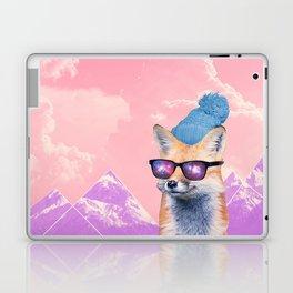 Fox at the rink Laptop & iPad Skin