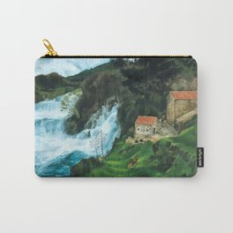 Waterfall in Krka Carry-All Pouch