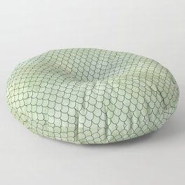 Mermaid Tail Pattern Floor Pillow
