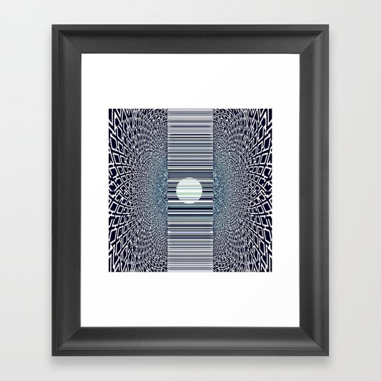 LUNE Framed Art Print