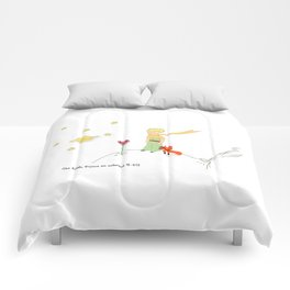 The Little Prince, on asteroid Comforters