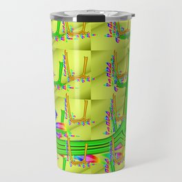 U - pattern 2 Travel Mug