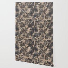 Tropical Jungle Leaves Dream #5 #tropical #decor #art #society6 Wallpaper