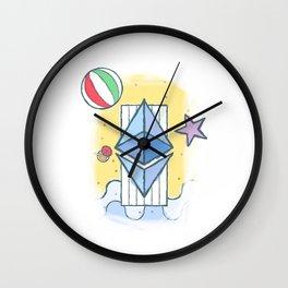ETH #worthit Wall Clock