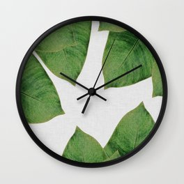 Banana Leaf I Wall Clock