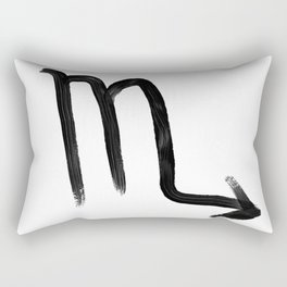 Scorpio Grit Rectangular Pillow