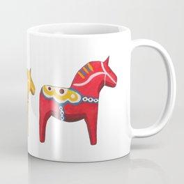 Dala horses Coffee Mug