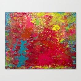 Tie-Dye Veins Canvas Print