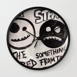 Smiles Wall Clock