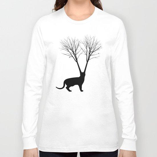 Cat Tree Long Sleeve T-shirt