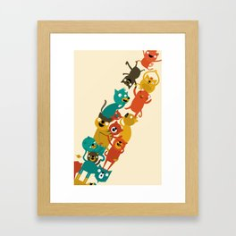 The Cats Tower Framed Art Print