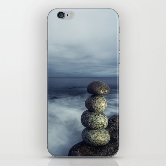 Balanced in the Sea iPhone & iPod Skin