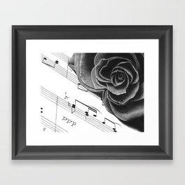 Music and Romance Framed Art Print