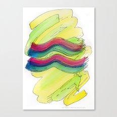 Aquarius Flow Canvas Print