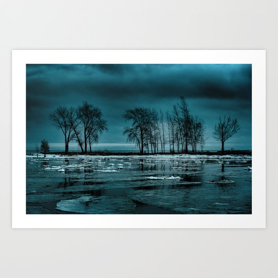 Distorted Reflections Art Print