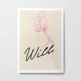 WILLSHAKESPEARE Metal Print