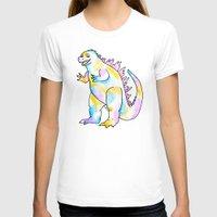 godzilla T-shirts featuring Godzilla  by Sabrina May