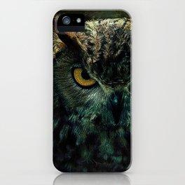 Owl - Owlish Tendencies iPhone Case