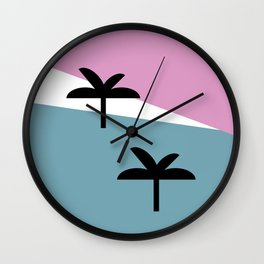 Sunset Landscape Wall Clock