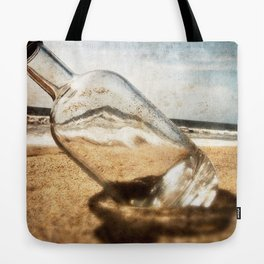 Bottle On Beach II Tote Bag