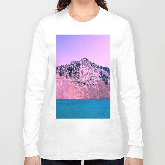 Pastel mountains Long Sleeve T-shirt