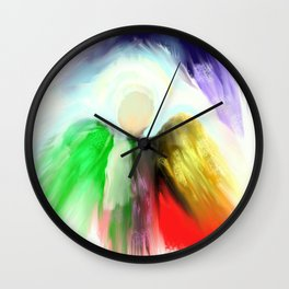 Angel in a Shawl Wall Clock