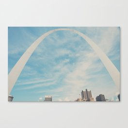 the gateway to the west ... Canvas Print