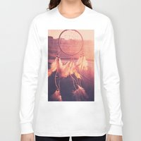 dream catcher Long Sleeve T-shirts featuring Dream Catcher by Whitney Retter