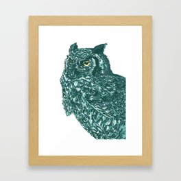 buho Framed Art Print