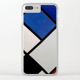 Theo van Doesburg - Contra-Compositions of Dissonances XVI - Abstract De Stijl Painting Clear iPhone Case