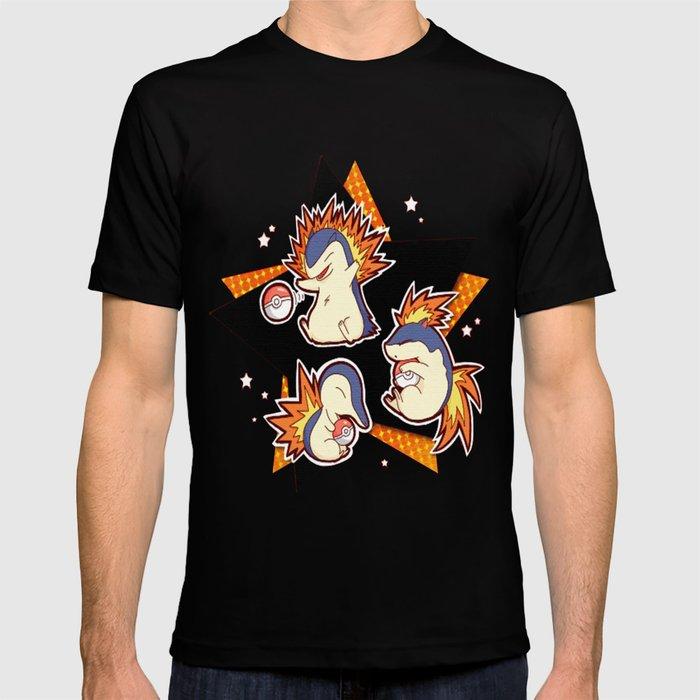 59774bbf Cyndaquil T-shirt by yamipimentel | Society6