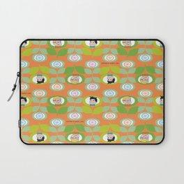 mabo & jimmy garden orange 2 Laptop Sleeve