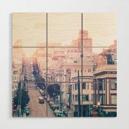 Hills of San Francisco Fine Art Print  • Travel Photography • Wall Art Wood Wall Art