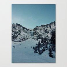 snow mountain Canvas Print