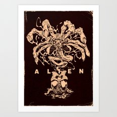 ALIEN: FACEHUGGER Art Print