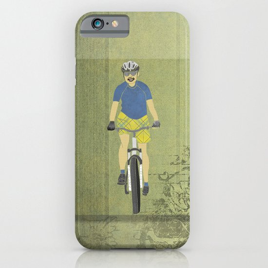 Bicycle Girl 2 iPhone & iPod Case