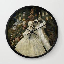 1910 Leonetto Cappiello Italian Supmante Cinzano Lithograph Advertisement Wall Clock