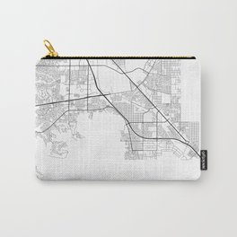 Minimal City Maps - Map Of Henderson, Nevada, United States Carry-All Pouch