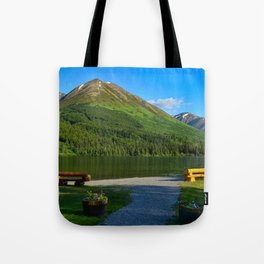 Summit Lake - Kenai Peninsula, Alaska Tote Bag