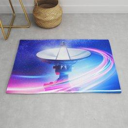 Radio Telescope: Neon light Rug