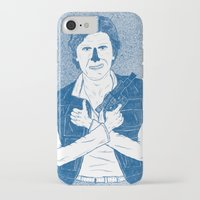 han solo iPhone & iPod Cases featuring Han Solo by David Penela